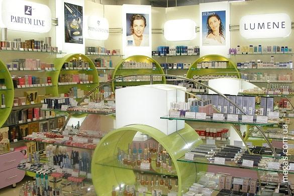 Магазины парфюмерии и косметики харьков