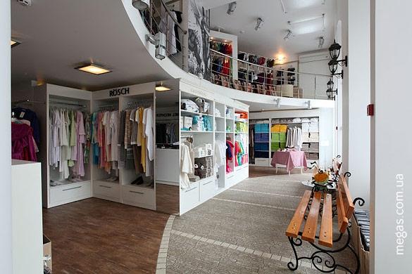 мебель для магазина одежды фото
